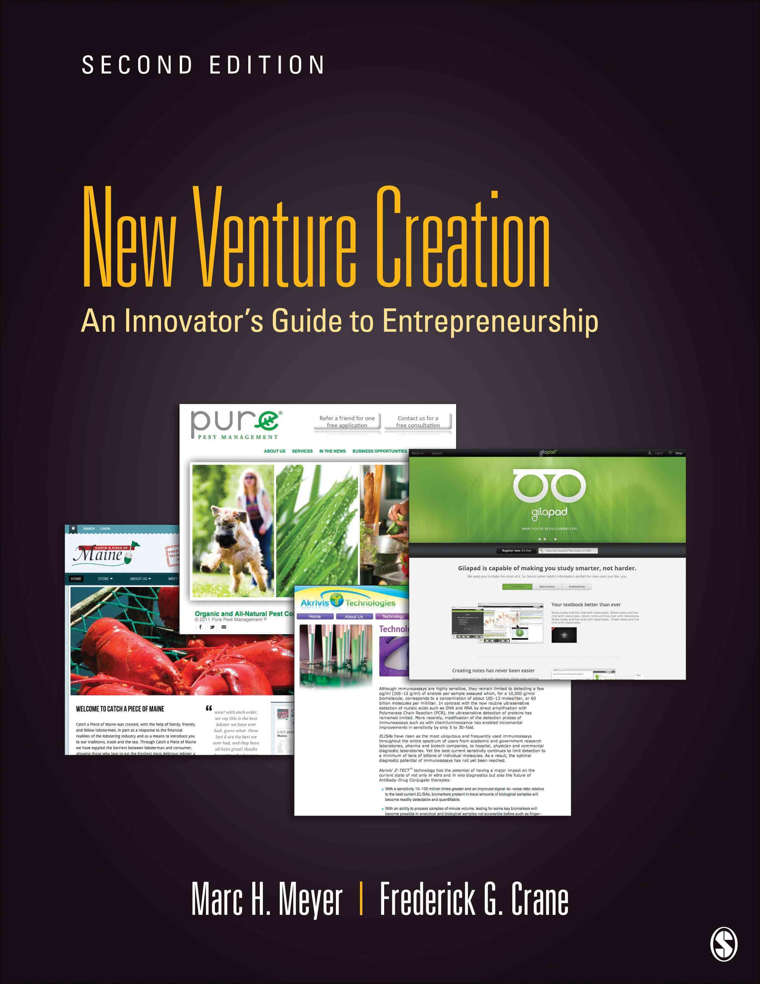 Entrepreneurship By Meyer, Marc H./ Crane, Frederick G.